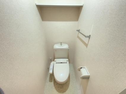 グッドラック高平[1LDK/40.04m2]のトイレ