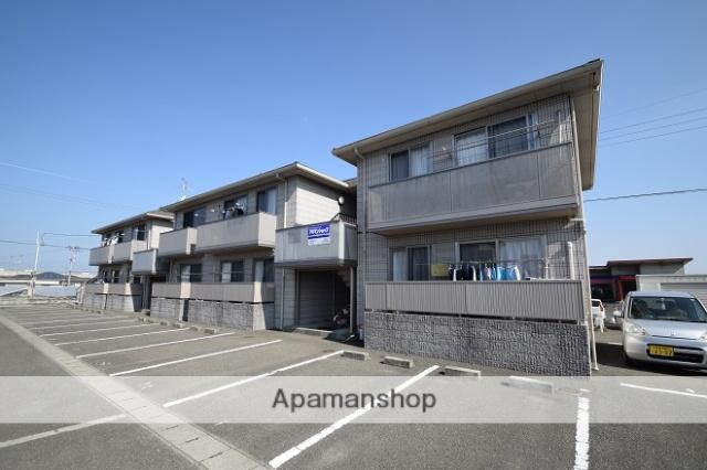 熊本県八代市、有佐駅九州産交バスバス7分外出バス停下車後徒歩20分の築9年 2階建の賃貸アパート