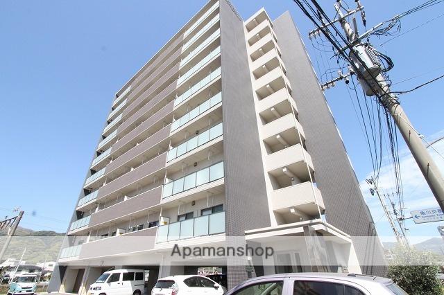 大分県別府市、亀川駅徒歩3分の築2年 10階建の賃貸マンション