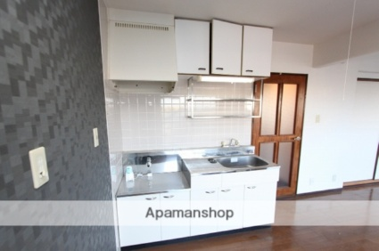 だいきゅうビルB[1LDK/45.36m2]のキッチン