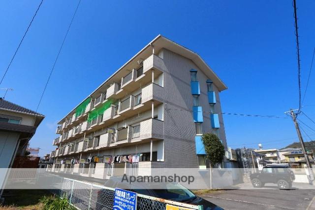 大分県大分市、賀来駅徒歩10分の築26年 4階建の賃貸アパート