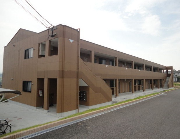 大分県由布市の築6年 2階建の賃貸マンション