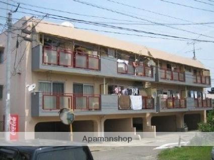 大分県大分市、大分駅徒歩21分の築41年 3階建の賃貸マンション