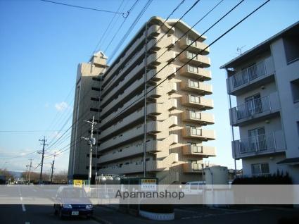 大分県大分市、大在駅徒歩8分の築25年 10階建の賃貸マンション