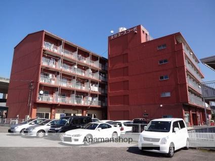 大分県大分市、敷戸駅徒歩23分の築27年 5階建の賃貸マンション