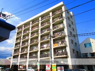大分県別府市、別府駅徒歩5分の築36年 7階建の賃貸マンション