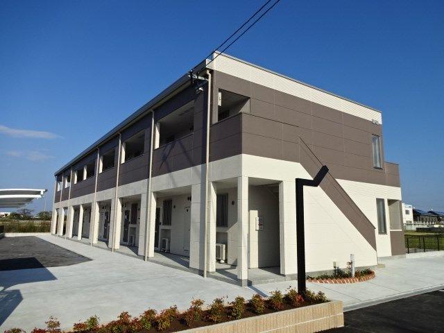 大分県中津市、中津駅徒歩21分の新築 2階建の賃貸マンション
