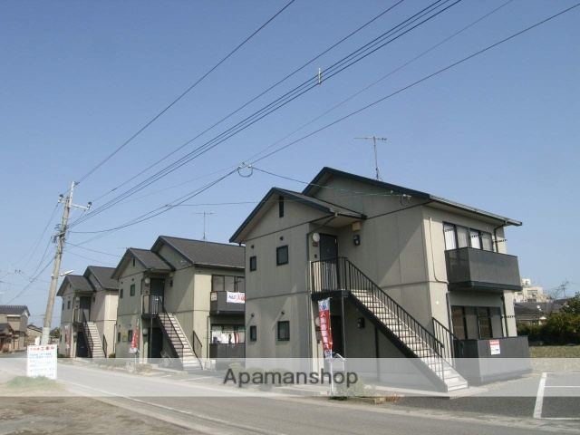 福岡県築上郡吉富町、吉富駅徒歩3分の築17年 2階建の賃貸アパート