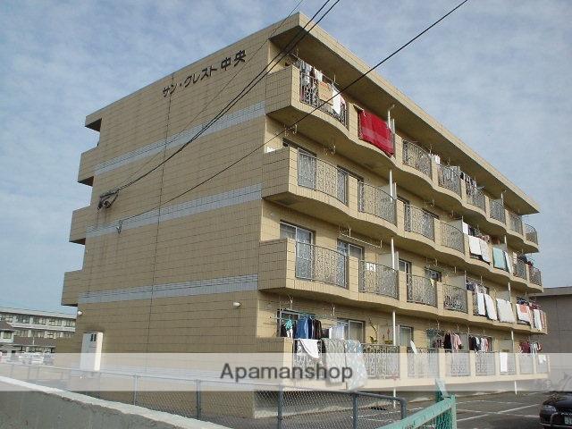 大分県中津市の築22年 4階建の賃貸マンション