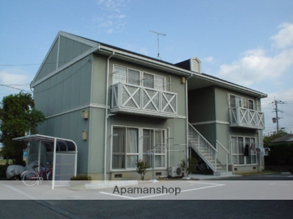 大分県中津市の築23年 2階建の賃貸アパート