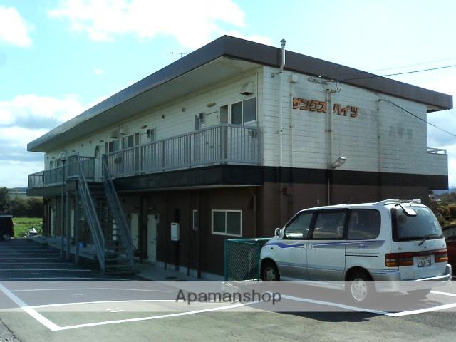 大分県中津市の築28年 2階建の賃貸アパート
