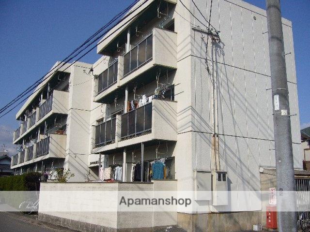 大分県大分市、大分駅徒歩24分の築31年 3階建の賃貸マンション
