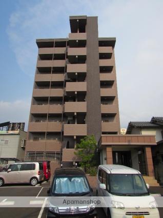 大分県大分市、古国府駅徒歩17分の新築 8階建の賃貸マンション