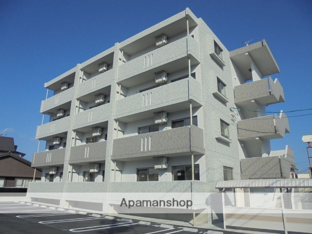 宮崎県日向市、日向市駅徒歩25分の新築 4階建の賃貸マンション