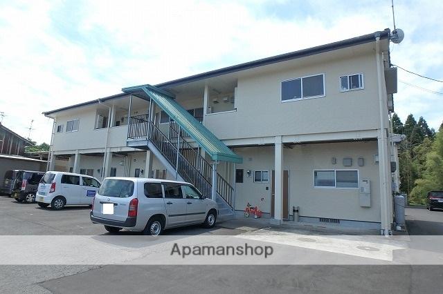 宮崎県小林市の築23年 2階建の賃貸アパート