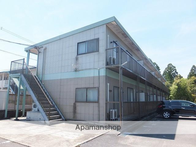 宮崎県小林市の築18年 2階建の賃貸アパート