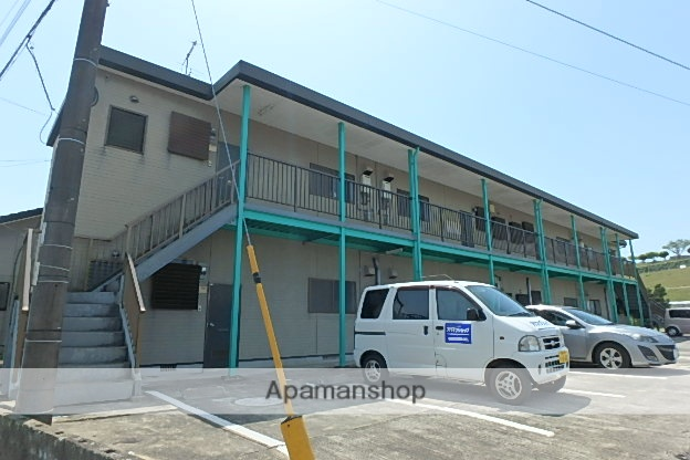 宮崎県小林市、小林駅徒歩36分の築21年 2階建の賃貸アパート