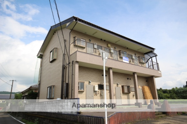 宮崎県えびの市、えびの飯野駅徒歩20分の築24年 2階建の賃貸アパート
