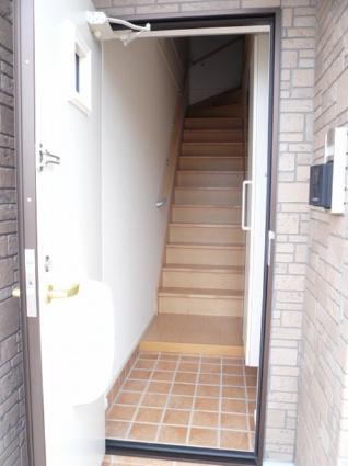 ガーデンハウス・バニラ[1LDK/42.8m2]の玄関