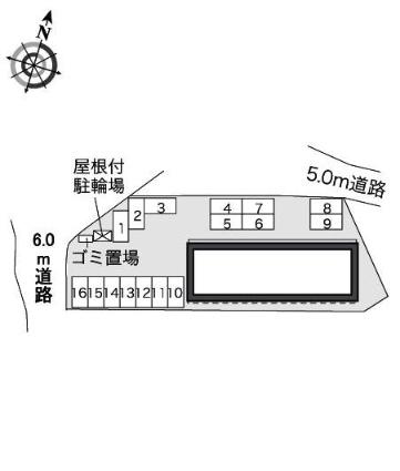 レオパレスプルメリアⅡ[1K/28.02m2]の内装2