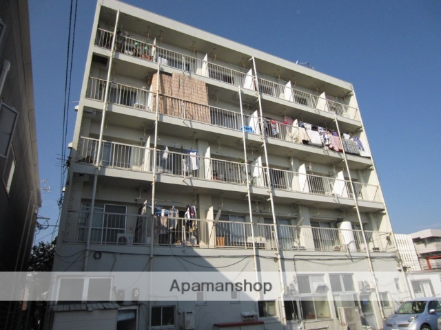 宮崎県宮崎市、宮崎駅バス15分昭和町下車後徒歩4分の築36年 5階建の賃貸マンション