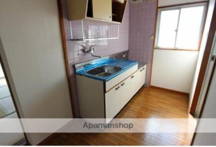 コーポナガトモ[2DK/39.66m2]のキッチン