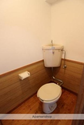 コーポナガトモ[2DK/39.66m2]のトイレ
