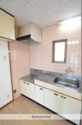 ニューフォンティーヌ[2DK/40m2]のキッチン