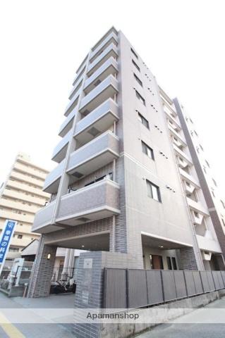 鹿児島県鹿児島市、新屋敷駅徒歩1分の築7年 8階建の賃貸マンション