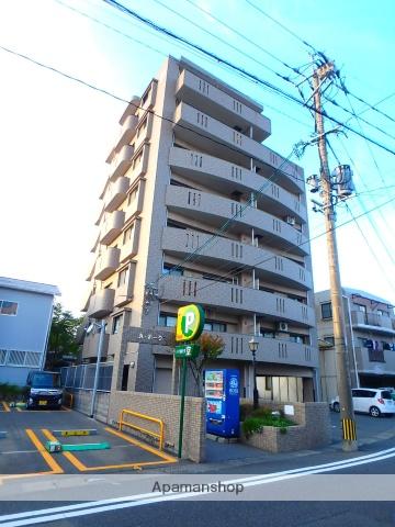 鹿児島県鹿児島市、武之橋駅徒歩8分の築16年 8階建の賃貸マンション