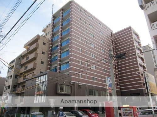 鹿児島県鹿児島市、高見馬場駅徒歩2分の築3年 9階建の賃貸マンション