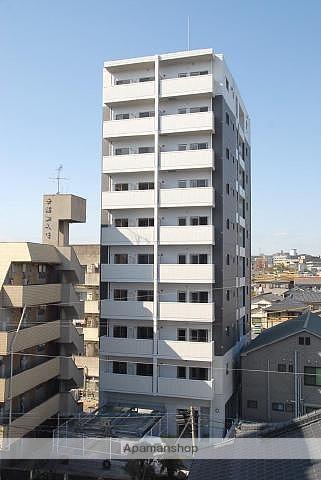 鹿児島県鹿児島市、騎射場駅徒歩6分の築7年 10階建の賃貸マンション