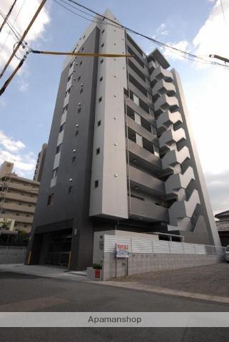 鹿児島県鹿児島市、高見橋駅徒歩7分の築2年 10階建の賃貸マンション