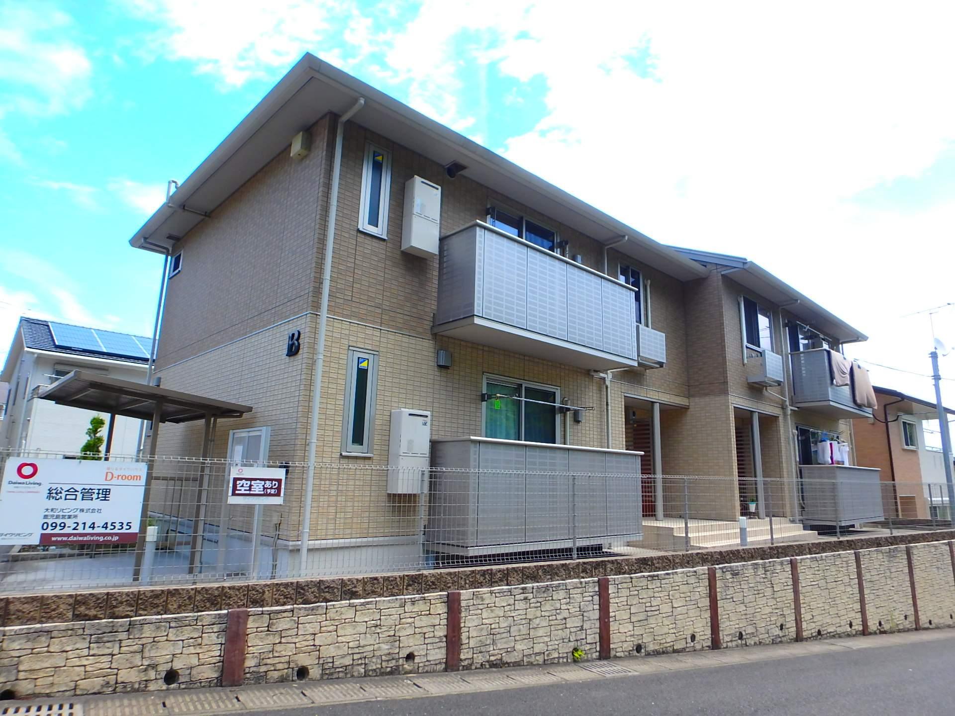 鹿児島県鹿児島市、宇宿駅徒歩23分の築4年 2階建の賃貸アパート