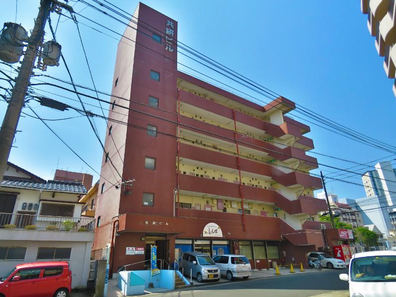 鹿児島県鹿児島市、高見橋駅徒歩6分の築32年 7階建の賃貸マンション