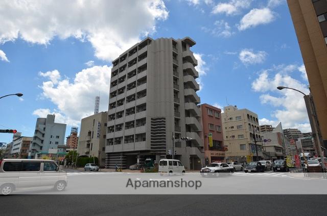 鹿児島県鹿児島市、高見馬場駅徒歩7分の築4年 9階建の賃貸マンション