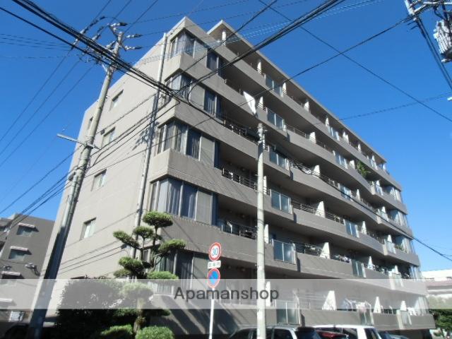 鹿児島県鹿児島市、新屋敷駅徒歩8分の築21年 6階建の賃貸マンション