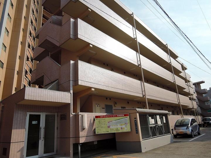 鹿児島県鹿児島市、郡元駅徒歩4分の築26年 4階建の賃貸マンション