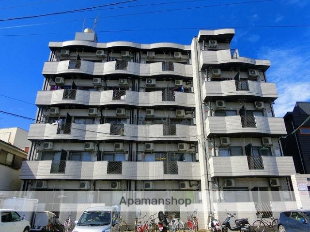 鹿児島県鹿児島市、宇宿駅徒歩5分の築25年 5階建の賃貸マンション