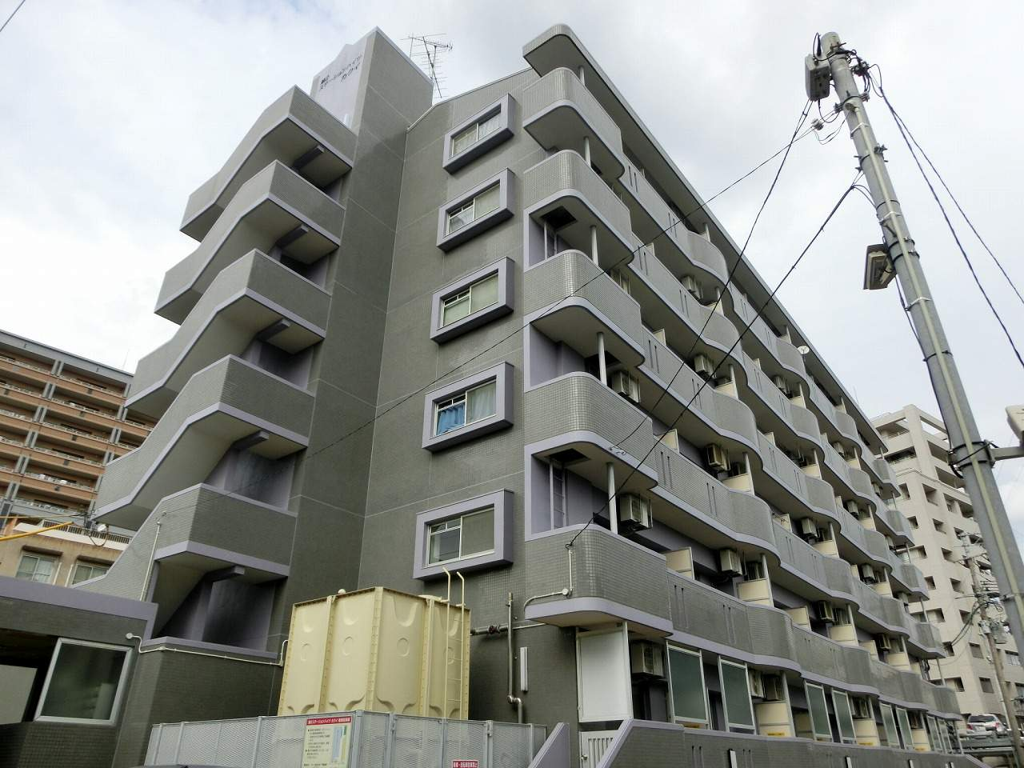鹿児島県鹿児島市、郡元駅徒歩5分の築20年 6階建の賃貸マンション