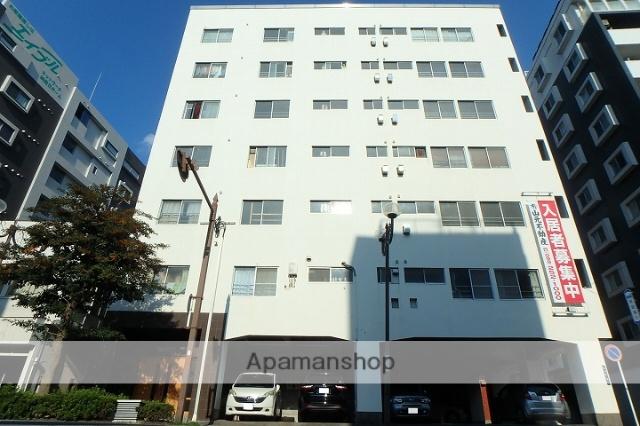 鹿児島県鹿児島市、甲東中学校前駅徒歩8分の築43年 8階建の賃貸マンション