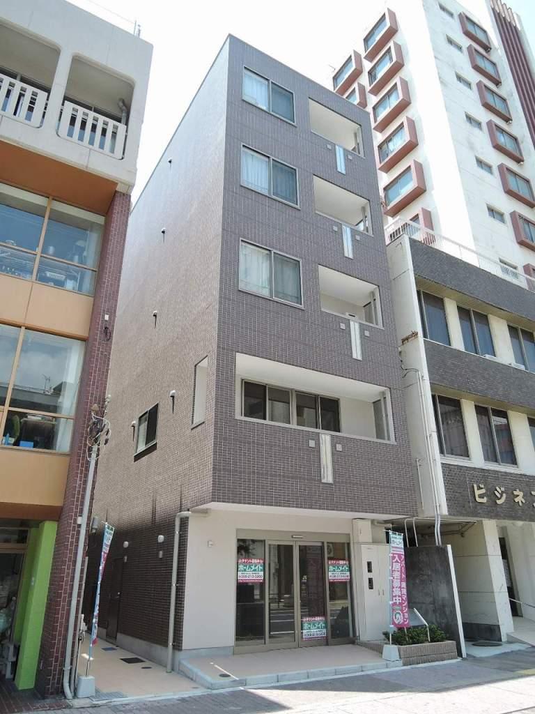 鹿児島県鹿児島市、朝日通駅徒歩9分の築1年 5階建の賃貸アパート