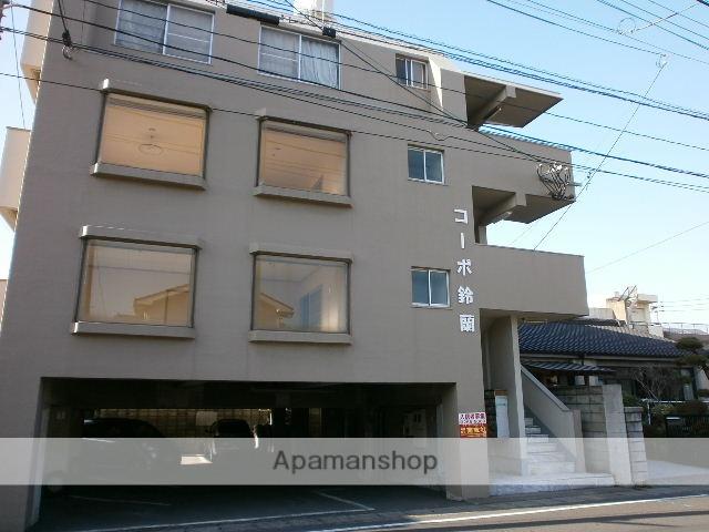 鹿児島県鹿児島市、宇宿駅徒歩5分の築37年 4階建の賃貸マンション
