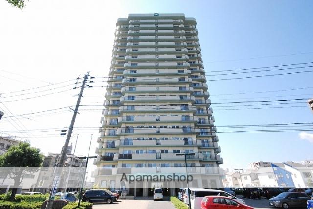 鹿児島県鹿児島市、武之橋駅徒歩9分の築27年 20階建の賃貸マンション
