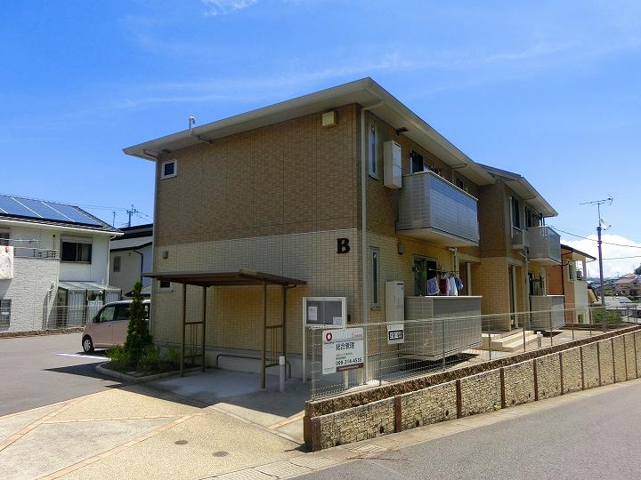 鹿児島県鹿児島市の築4年 2階建の賃貸アパート