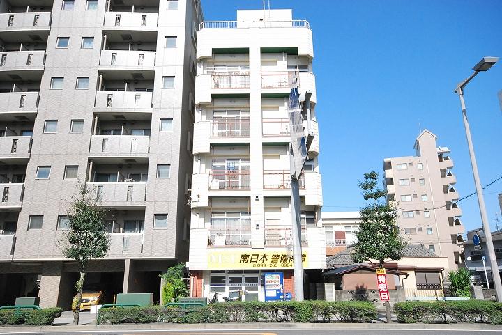 鹿児島県鹿児島市、鹿児島駅徒歩4分の築37年 7階建の賃貸マンション