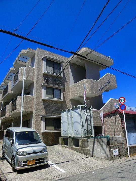 鹿児島県鹿児島市、宇宿駅徒歩3分の築22年 3階建の賃貸マンション