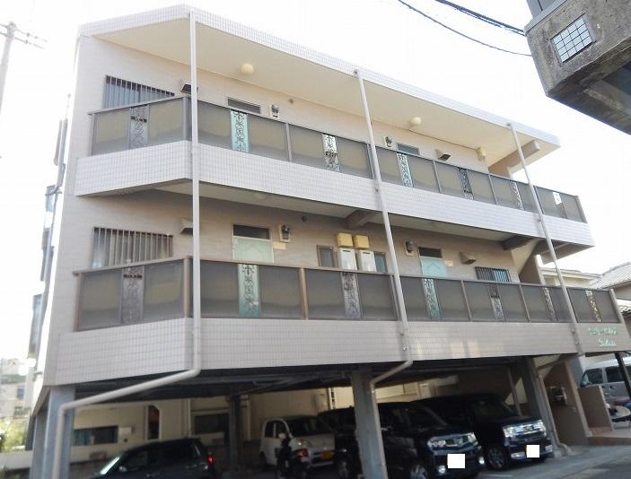 鹿児島県鹿児島市、郡元駅徒歩20分の築18年 3階建の賃貸マンション