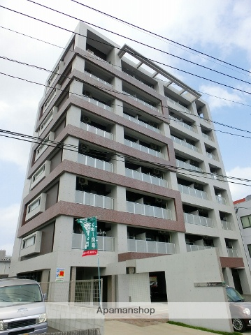 鹿児島県鹿児島市、南鹿児島駅徒歩9分の築1年 8階建の賃貸マンション