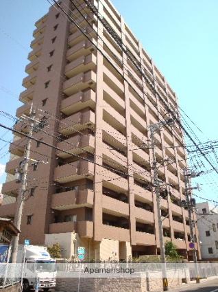 鹿児島県鹿児島市、朝日通駅徒歩5分の築8年 14階建の賃貸マンション